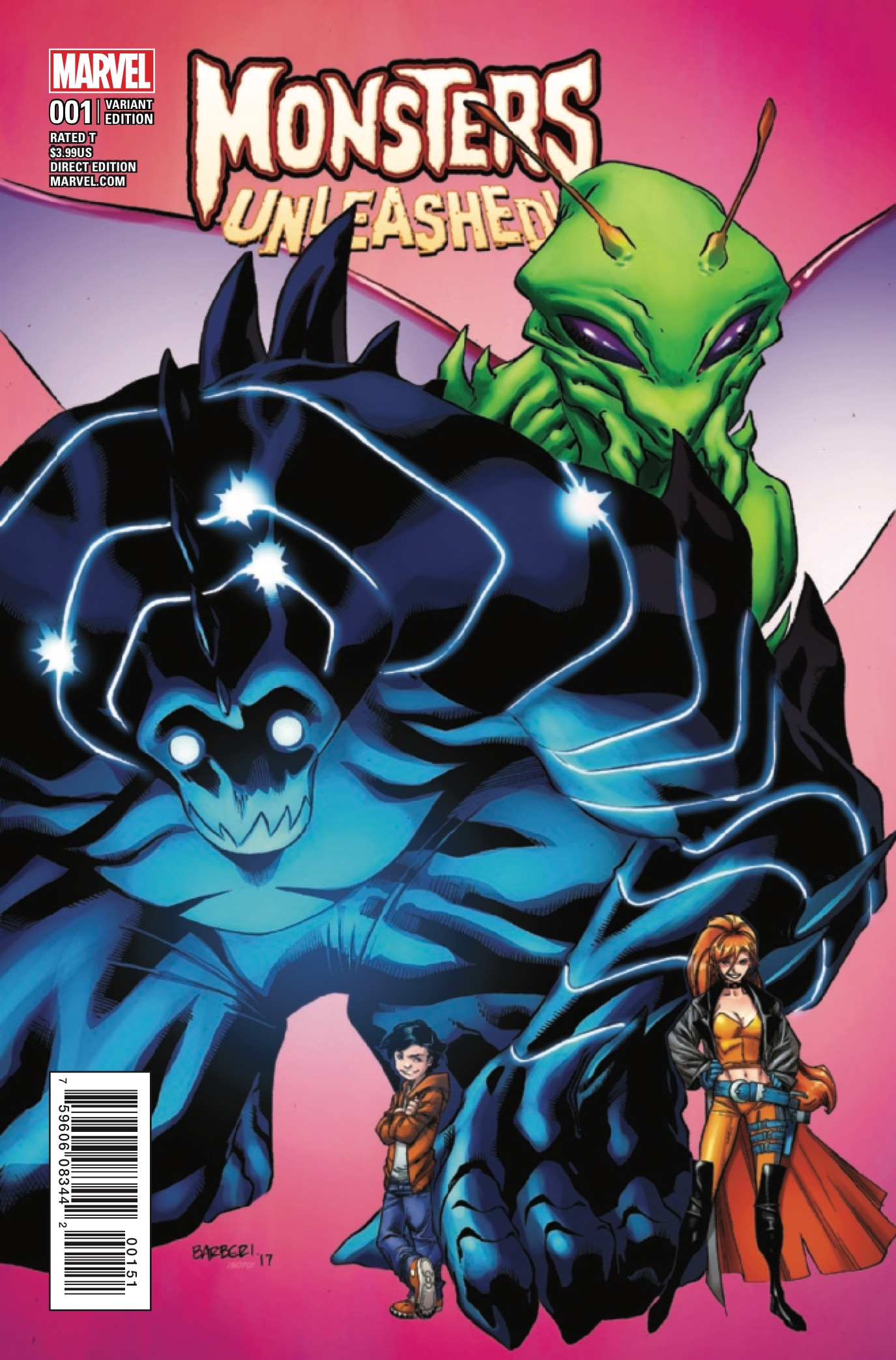 Monsters Unleashed #1 Review