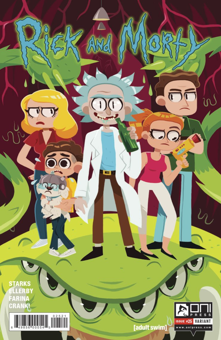 Oni Preview: Rick and Morty #25
