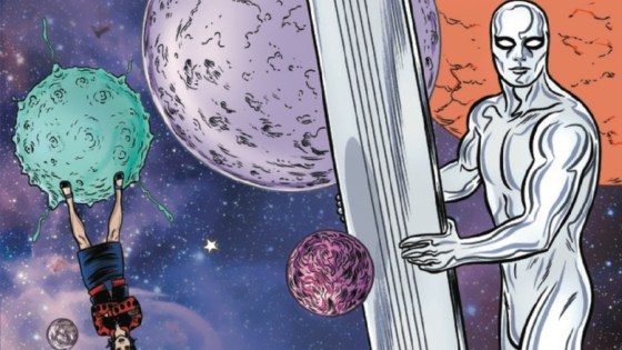 """""""UNHERALDED"""" There's only one reason the Silver Surfer would ever serve Galactus again...if the Universe itself hung in the balance! Will this be the final straw that breaks up Marvel's most cosmic couple?"""