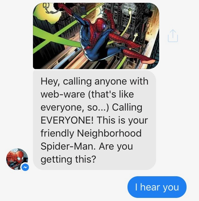 The Passive-Aggressive Spider-Man: My Text Fight With Spidey