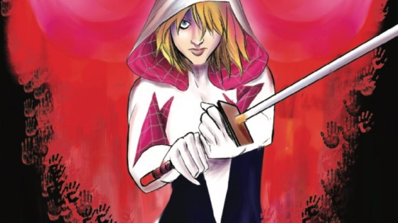 A NEW STORY ARC BEGINS! Matt Murdock, crime kingpin of NY and leader of The Hand, sends Spider-Gwen on a mission that hits WAY too close to home. This mission will introduce one of the biggest new characters in the Gweniverse and set Gwen on the path to her scariest villain yet!