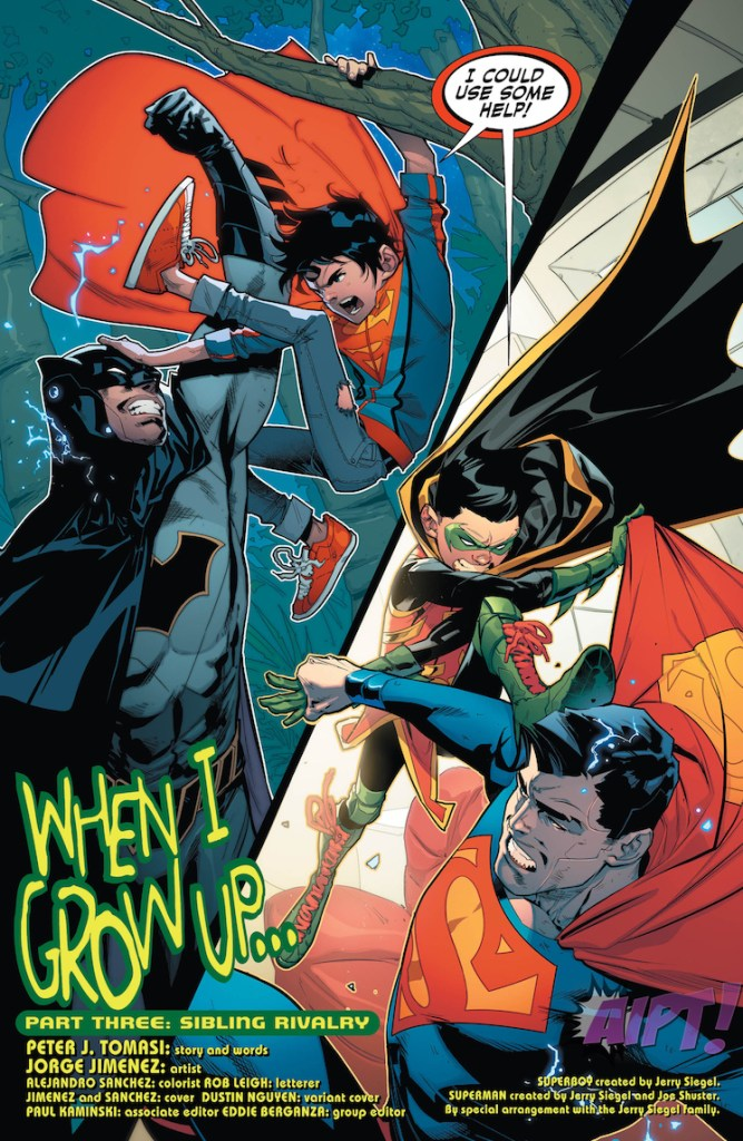 [EXCLUSIVE] DC Preview: Super Sons #3