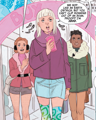 Shade the Changing Girl #7 Review