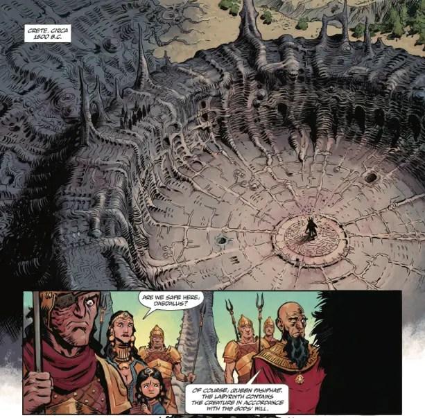 'Kill the Minotaur' Creators Christian Cantamessa, Lukas Ketner and Chris Pasetto Talk Comics, Film And More