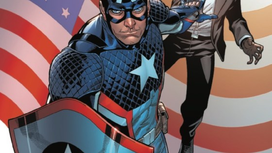 The time for goofy solicits is over. A.I.M. is getting serious — and Steve Rogers is here to make sure of it. But where does this leave Roberto Da Costa? Meanwhile, Sam Guthrie is a man of two worlds. Which will he choose?