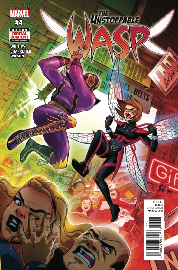 The Unstoppable Wasp #4 Review
