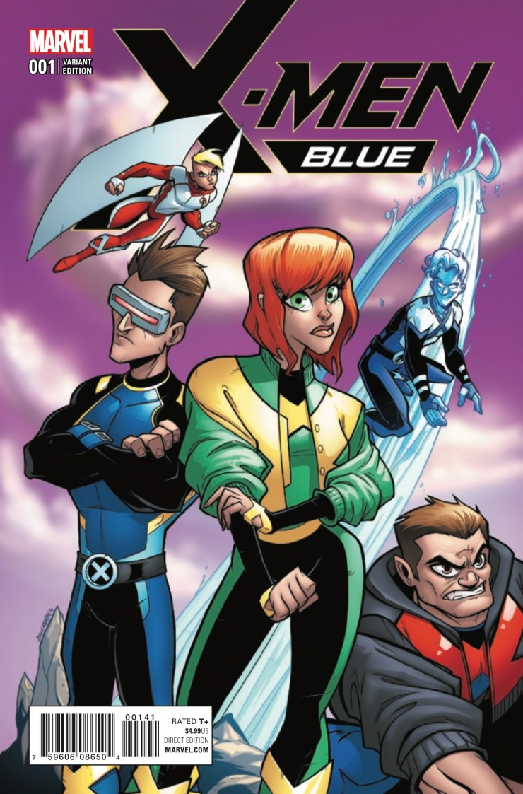 Marvel Preview: X-Men: Blue #1