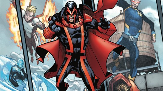 WHAT IS MAGNETO HIDING? MAGNETO has joined the X-MEN, but due to their long history, not everyone on the team trusts him…especially not JEAN GREY. With tensions rising between teammates, can the X-MEN come together to be a cohesive force for good? Or will ulterior motives and personal quests derail the entire enterprise? At the end of the day…who can be trusted?