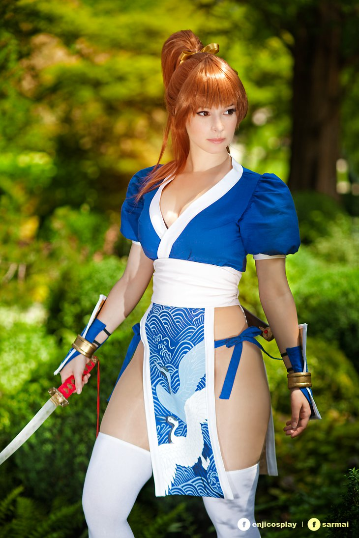 Dead or Alive: Kasumi Cosplay by Enji-Night