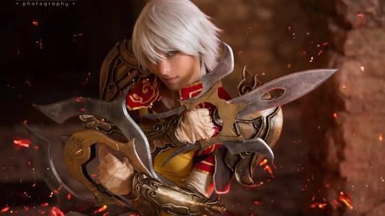 Diablo III: Monk Cosplay by Azka