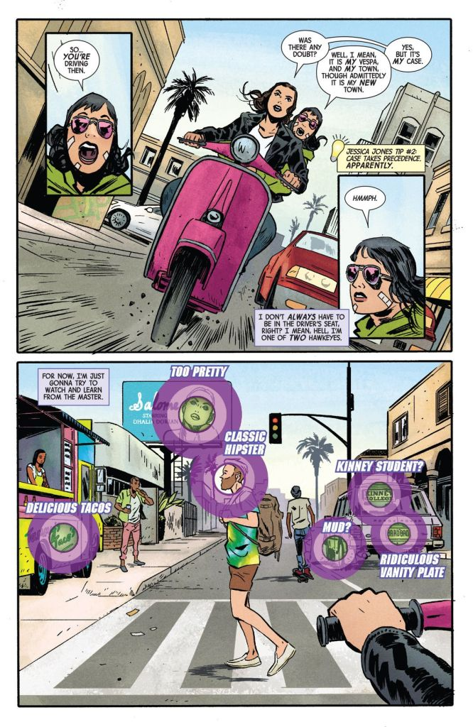 Hawkeye # 5 Review