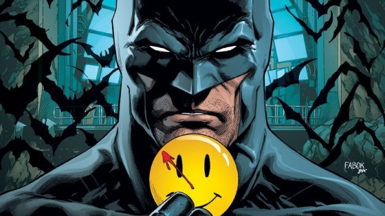 "The title of the story arc starting in Batman #21 this week is entitled ""The Button"" and Watchmen fans should already know this is where the DC crossover event starts. The cover says it all, Batman and the Flash are involved in a mysterious button Batman discovered in his cave back in May 2016. Finally some answers, or at the very least the start of something much bigger!"