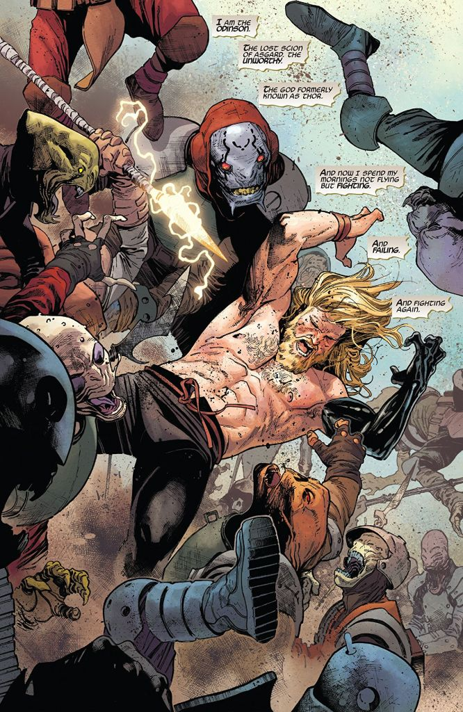 The Unworthy Thor: Vol. 1 is character reinvention done right
