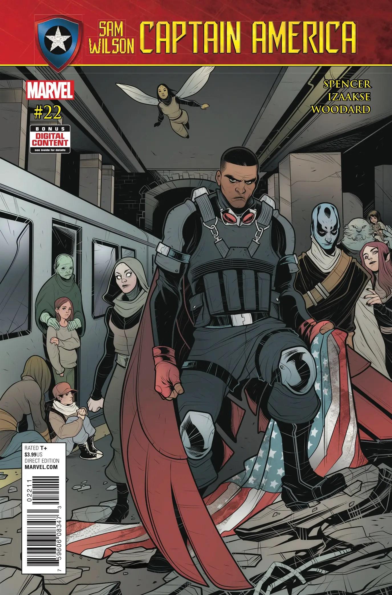 Captain America: Sam Wilson #22 Review