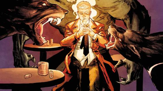 """""""THE SMOKELESS FIRE"""" part four! John Constantine has a lead on the missing journal, but has Misabel created a false trail? Mercury doesn't trust the looks of the club where they end up, and only an old enemy can save them!"""