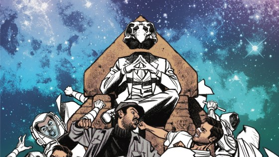 With issue #14, the current Moon Knight run comes to a close. Do we get answers for any of the several questions this volume has raised? If not, is the ending still satisfactory in its own open-endedness?