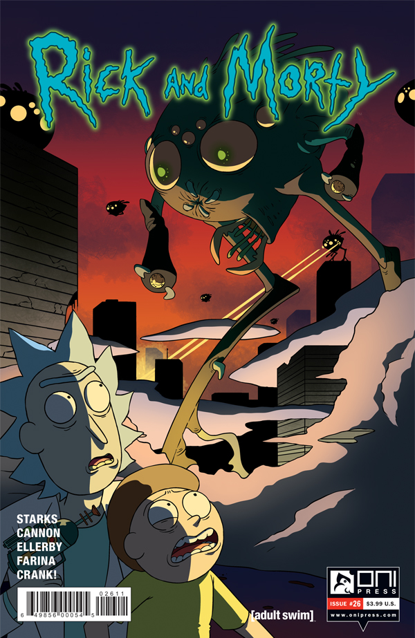 Oni Preview: Rick and Morty #26