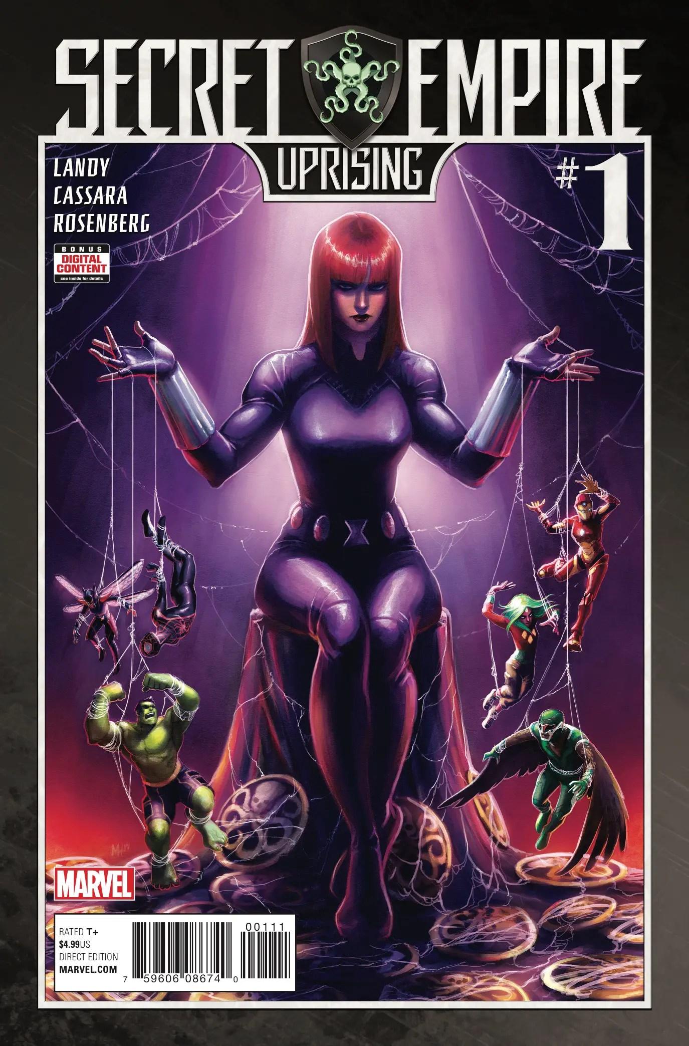 Secret Empire: Uprising #1 Review