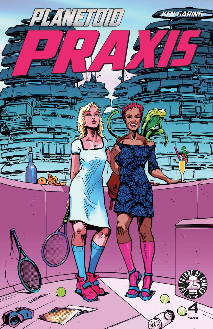 Planetoid Praxis #4 Review