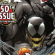 REUNITED, AND IT FEELS SO GOOD! Or, feels so bad? However it feels, Eddie Brock and the Venom symbiote have been reunited, and they're web-slinging their way around New York again. Featuring a host (hah!) of Venom creators from the character's near 30-year history, this monstrous anniversary spectacular welcomes guest artist TRADD MOORE for an oversized and brutal main story AND a lethal story featuring fan-favorite creators David Michelinie and Ron Lim, reunited! With questions still lingering about how the symbiote was separated from Flash Thompson, and what lies in its future now that it's reunited with Eddie Brock, this is one issue you can't afford to miss!