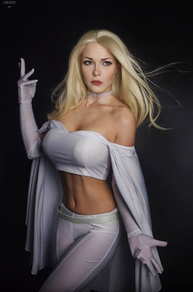X-Men: Emma Frost Cosplay by Captain Irachka