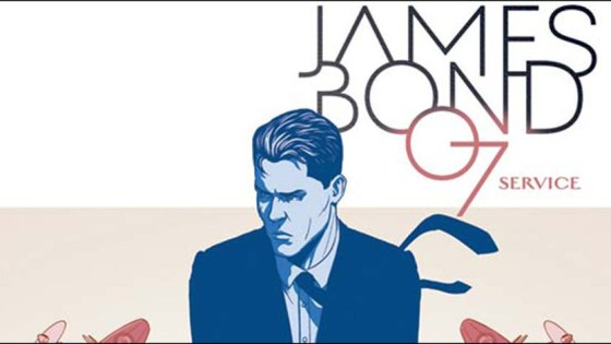 James Bond: Service Special hits this week, a 48-page, $7.99 special from Kieron Gillen and Antonio Fuso that delivers a James Bond one-shot story rife with American/British politics. Given the climate in politics for both countries today this seems very well timed.
