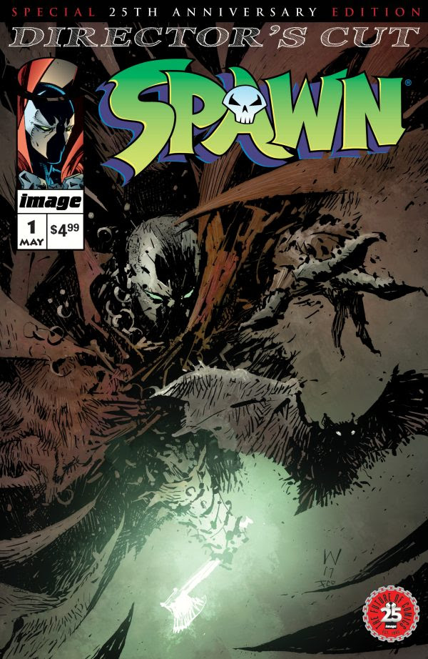 Spawn #1 Is Reborn With a Special 25th Anniversary Director's Cut Edition, Cover and Interior Pages Revealed
