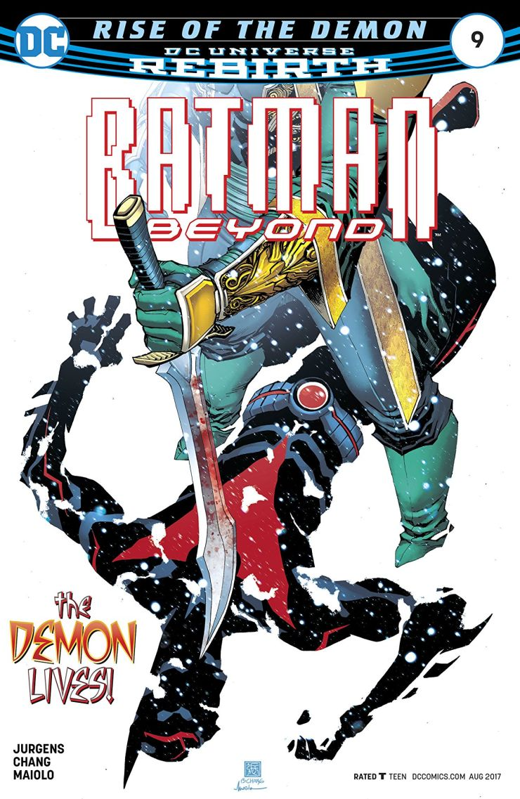 Batman Beyond #9 Review
