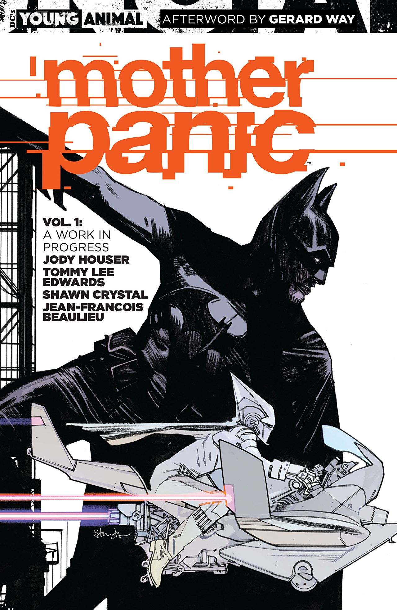 'Mother Panic Vol. 1: A Work in Progress' is all talk and no thrills