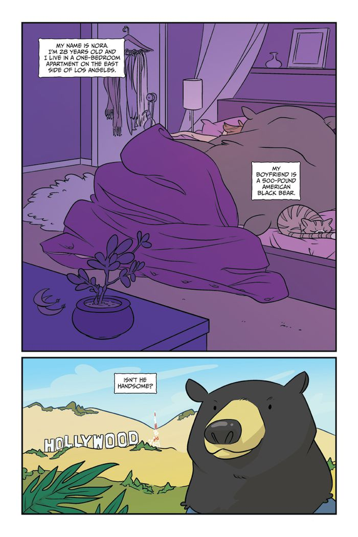 Oni Preview: My Boyfriend is a Bear