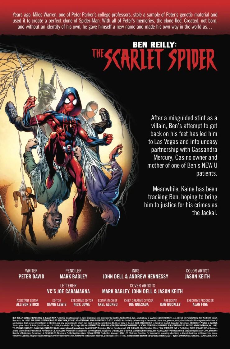 Marvel Preview: Ben Reilly: Scarlet Spider #4