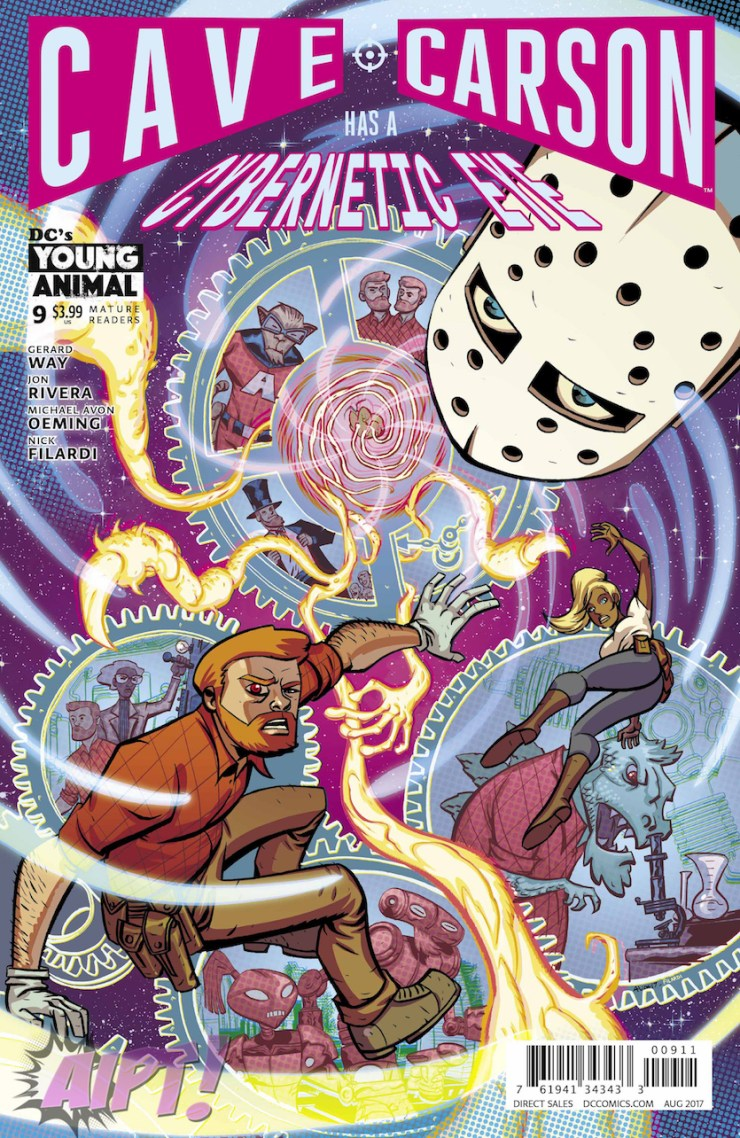 [EXCLUSIVE] DC Preview: Cave Carson Has a Cybernetic Eye #9