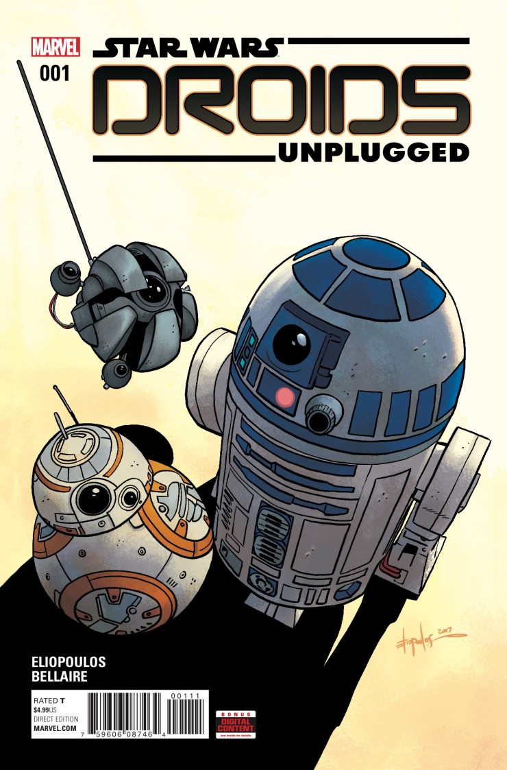 Marvel Preview: Star Wars: Droids Unplugged #1