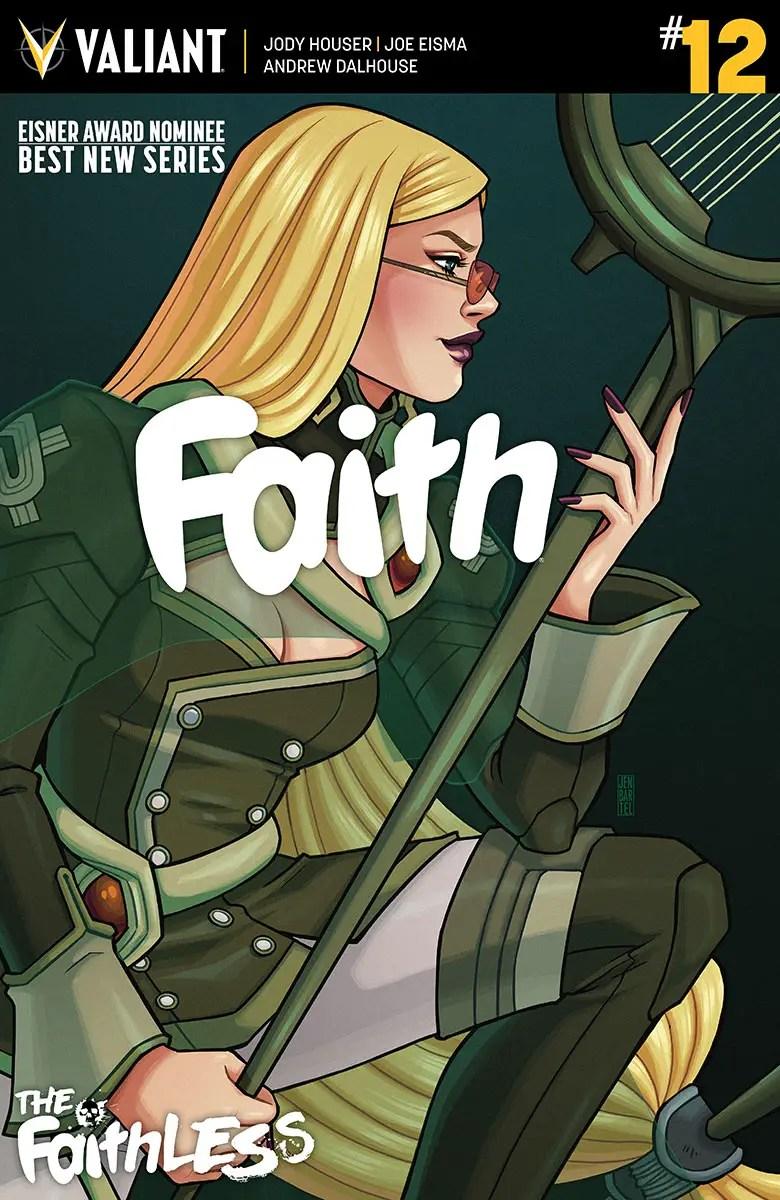 Faith #12 Review