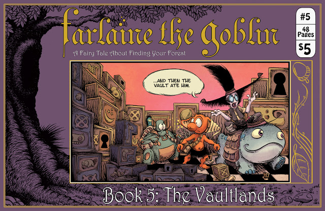 Farlaine the Goblin Book 5: The Vaultlands Review