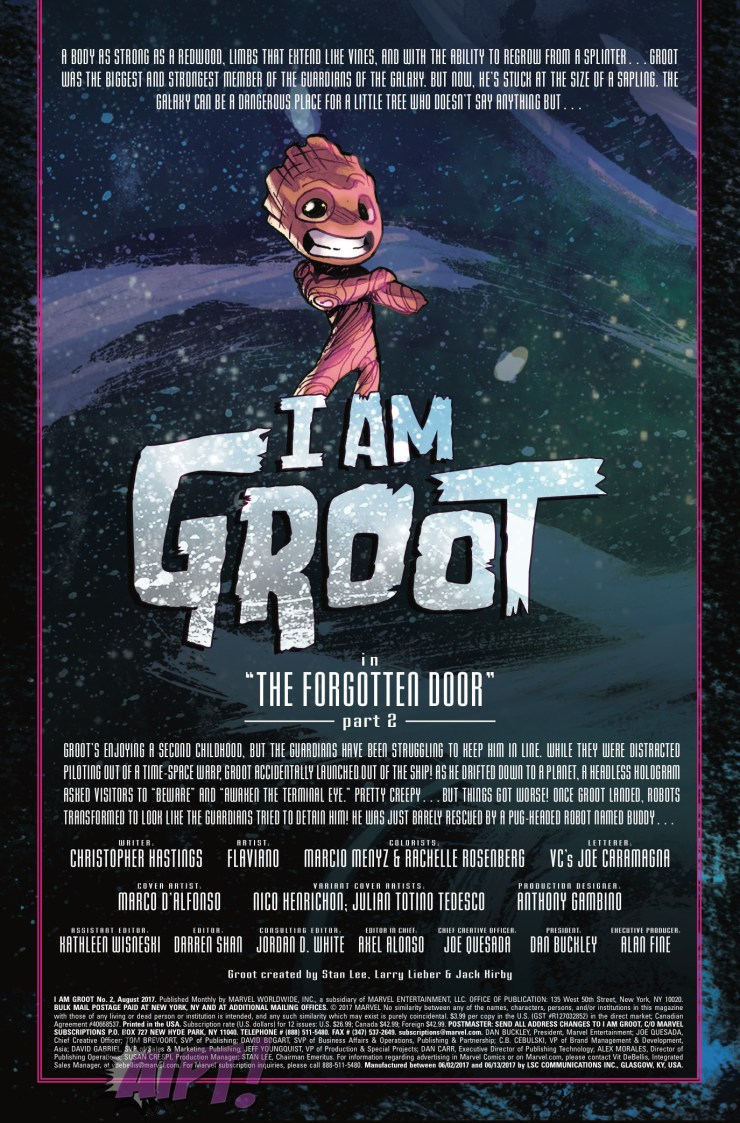 [EXCLUSIVE] Marvel Preview: I Am Groot #2