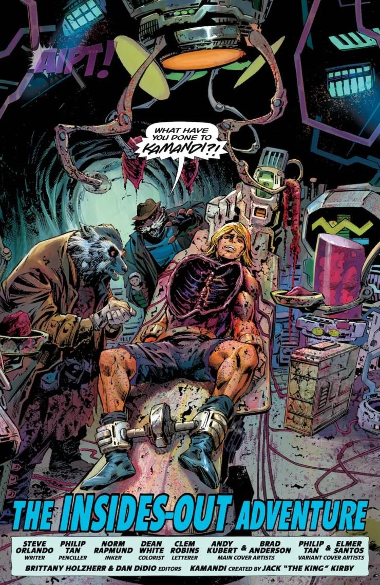 [EXCLUSIVE] DC Preview: Kamandi Challenge #6