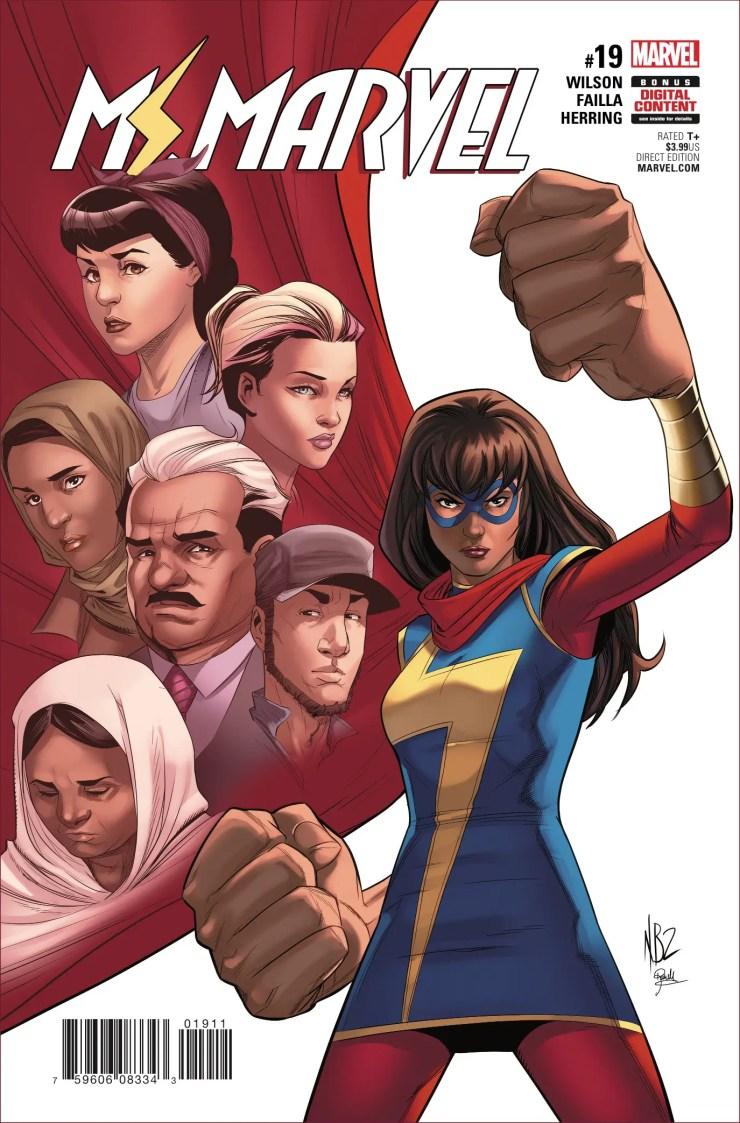 Marvel Preview: Ms. Marvel #19