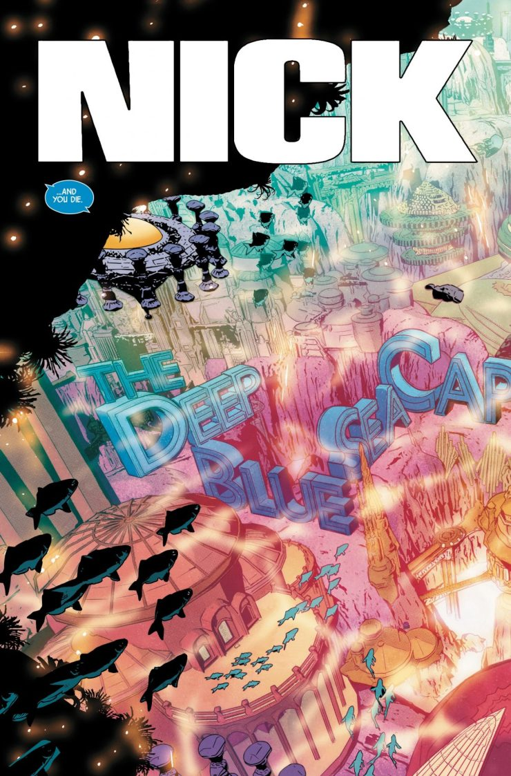 Marvel Preview: Nick Fury #4