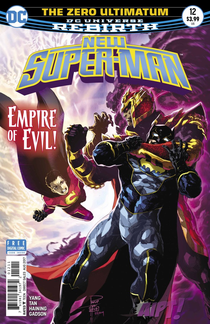[EXCLUSIVE] DC Preview: New Super-Man #12