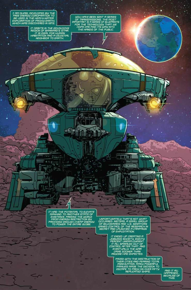 Marvel Preview: The Prox Transmissions