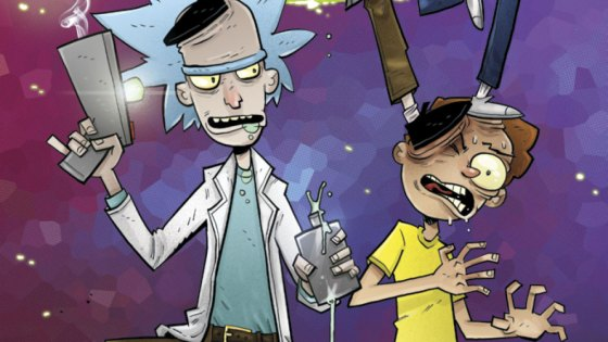 We've waited so long for any announcement that the new season of Rick and Morty (besides the first episode) would be on the way I'm starting to forget if it's ever coming back. That forgetfulness is aided by how good the comic series Oni Press is publishing and there's a new chapter out this week. When was the last time you said there would be a new chapter coming from Rick and Morty? Yeah that's right, you can't remember!