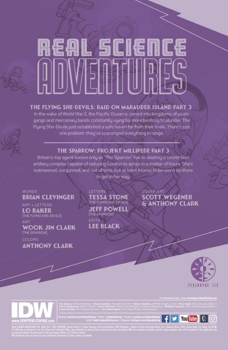 [EXCLUSIVE] IDW Preview: Real Science Adventures: The Flying She-Devils #3