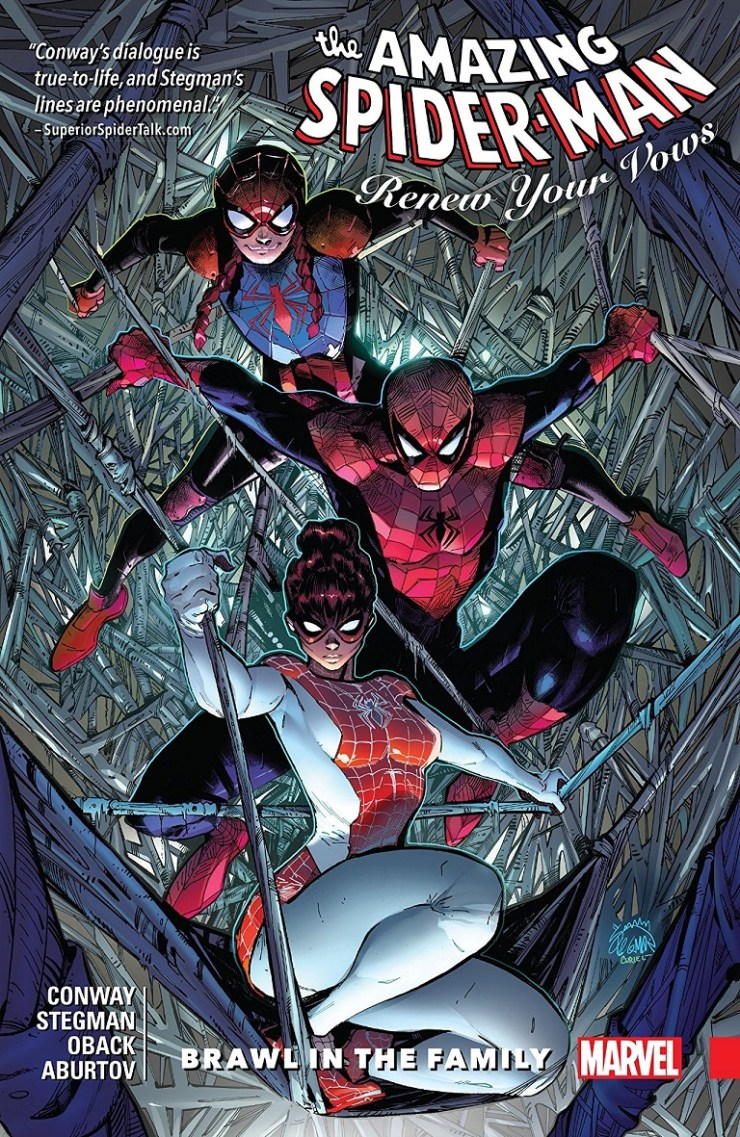 'Amazing Spider-Man: Renew Your Vows Vol. 1: Brawl in the Family' is one of the most heartfelt, fun Marvel comics in recent memory