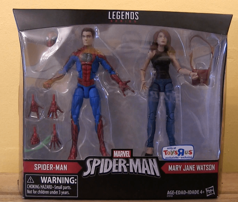 """Unboxing/Review: Marvel Legends Spider-Man & Mary Jane 2 Pack 6"""" Action Figures"""