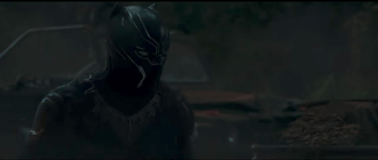 Watch the first teaser trailer for 'Black Panther'
