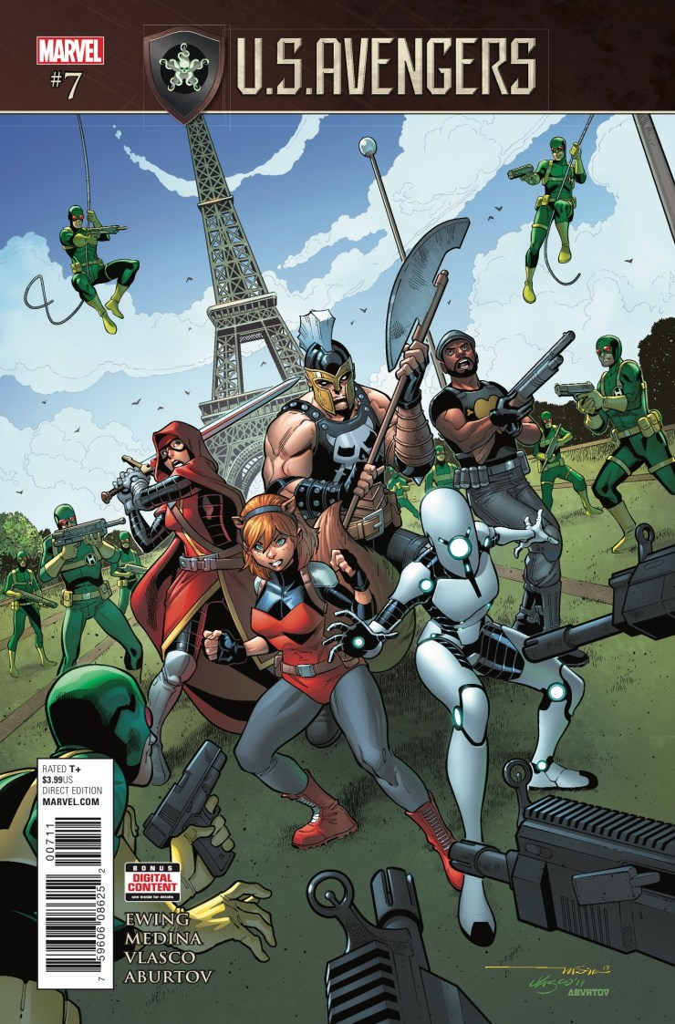 Marvel Preview: U.S.Avengers #7