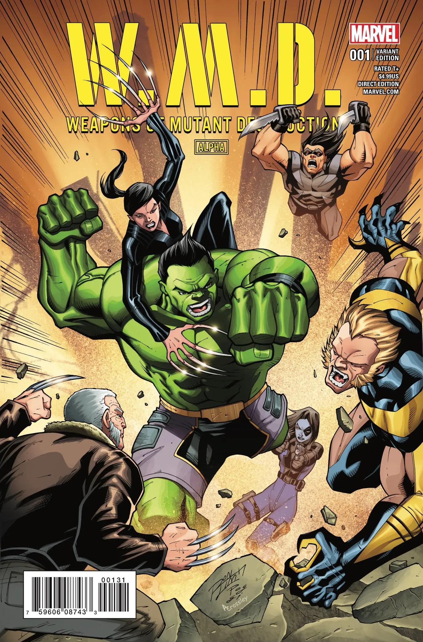 Weapons of Mutant Destruction #1 Review
