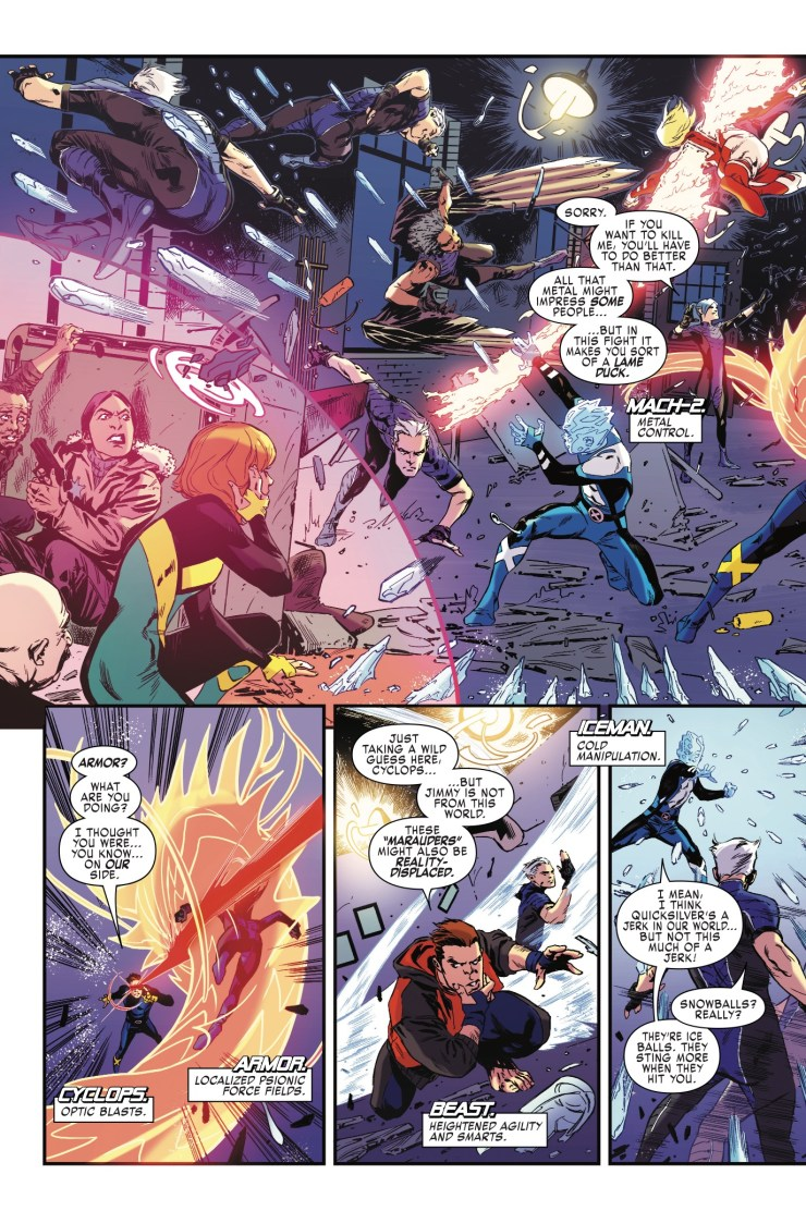 Marvel Preview: X-Men: Blue #5