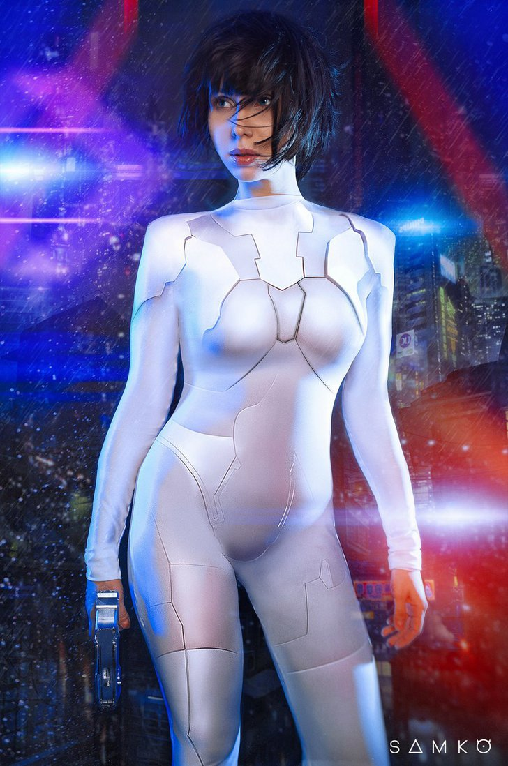 Ghost in the Shell Cosplay by Elena Samko